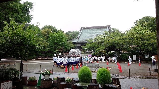 遊行寺境内