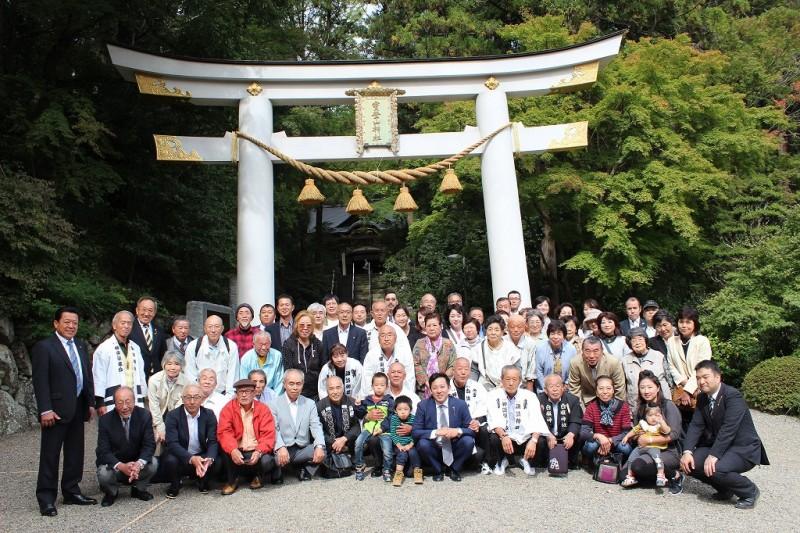集合写真 宝登山神社