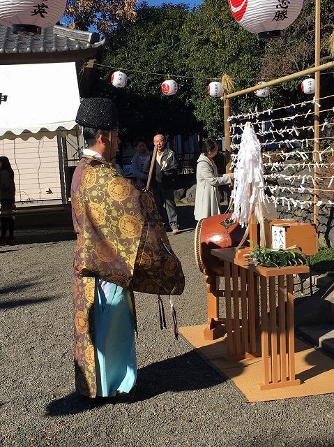 石川 佐波神社にて