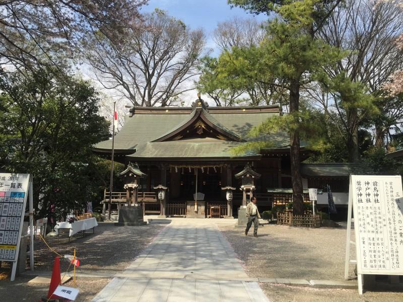 前鳥神社社殿