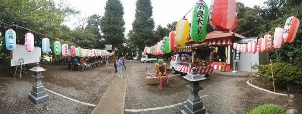 上高倉 諏訪神社