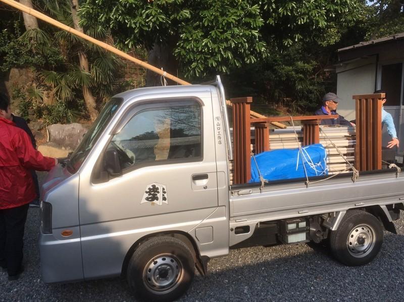 山口工務店軽トラ