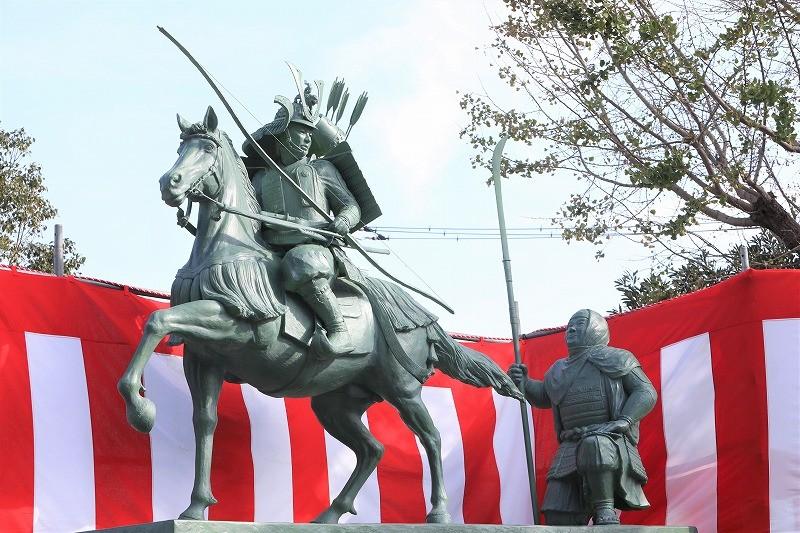 除幕式 銅像