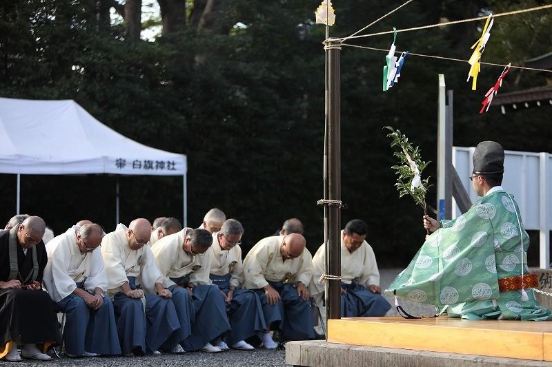 秋祭 修祓